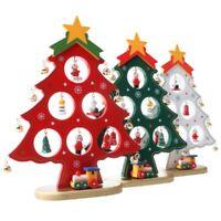 1X(Creativo DIY nel Legno Decorazione per Albero di Natale Regalo di Natale V4N1