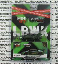 2020 Tarmac Works Exclusive Mini-Gt 1:64 Lhd Magic Green Lamborghini Huracan Gt