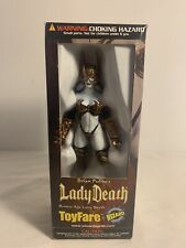 RARE BRONZE AGE LADY DEATH TOYFARE EXCLUSIVE ACTION FIGURE!
