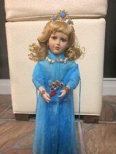 "Gypsy Porcelain Doll ,or Gitana de Porcelana 16""."