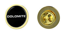 Triumph Dolomite Text Logo Clutch Pin Badge Choice of Gold/Silver