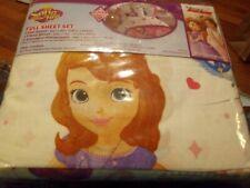 Disney Junior Princess Sofia the First Full Sheet Set New Complete Set