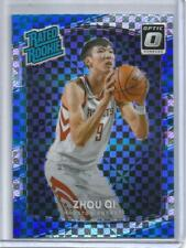 Zhou Qi 17/18 Panini Donruss Optic Checkerboard Rookie