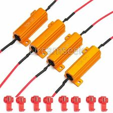 4X 50W 6ohm LOAD RESISTOR FIX LED LIGHT BULB ERROR FAST HYPER FLASH TURN SIGNAL