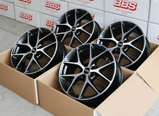 BBS SR vulcano diamandgedreht 4 Felgen 8,5 x 19 Zoll SR030 für Ford Mondeo