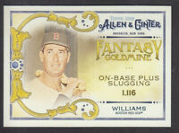 Topps - Allen & Ginter 2018 - Fantasy Goldmine FG-19 Ted Williams Boston Red Sox
