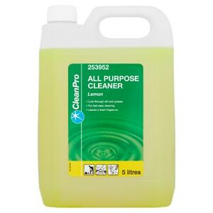 Clean Pro Lemon All Purpose Cleaner 5 Litres Cleaning Takeaway Restaurant