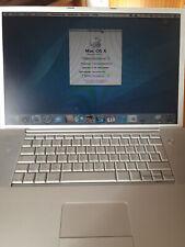 Apple MACBOOK Powerbook G4 17 Zoll 1,33 GHz mit Wacom Grafik/Zeichentablett