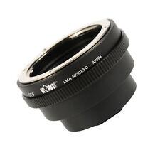 Adaptador encaja con Nikon G serie objetivamente a Pentax Q systemkanera