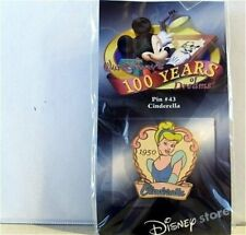 Old Rare Le Disney pin 100 Years of Dreams #43 Cinderella 1950 Blue Ball Gown