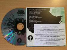 BLOOD COMMAND ~'Funeral Beach'~UK PROMO ONLY CD 2012~BIO~NORWEGIAN METAL~NEW