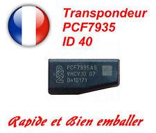 Transpondeur d'antidémarrage PCF7935AS ID 40 pour Opel
