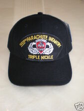 555th PARACHUTE INFANTRY TRIPLE NICKLE MILITARY CAP