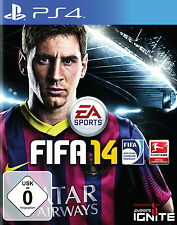 FIFA 14 (Sony PlayStation 4, 2013 DVD-Box) - ohne Anleitung - sehr guter Zustand