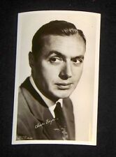 Charles Boyer 1940's 1950's Actor's Penny Arcade Photo Card Postcard