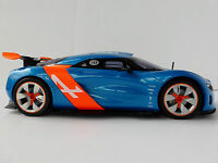 Renault Alpine A110-50 Bleu / Orange 1/18 Norev 185147 Prototype A110 A 110