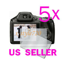 5x Clear LCD Screen Protector Guard Film For Sony CyberShot DSC-HX100V