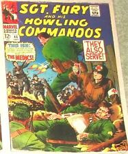 SGT. FURY 46 SERGEANT 1963 SERIES & HIS HOWLING COMMANDOS NICK AGENT OF SHIELD