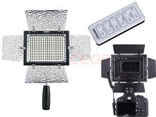 YongNuo YN-160 II LED Video Lamp Light for Nikon D7200 D7100 D5300 DSLR Camera