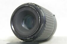 SMC Pentax-A Macro 100mm F/4 MF Prime Lens SN5682770 from Japan *As-Is*