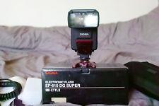 Sigma EF-610 DG Super ETTL II Flash for Canon EOS Digital (LCD Display)