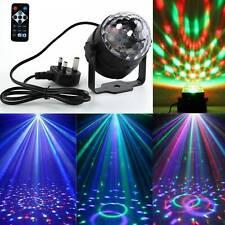 LED Mini Magic Ball Stage Light Club RGB Rotating Disco Party DJDecor Remote hot