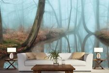 Mirror Forest 12' x 8' (3,66m x 2,44m)-Wall Mural