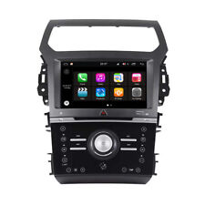 "9"" Android 9.0 Car DVD GPS Radio for Ford Explorer 2011-2015 Manual Air W254"