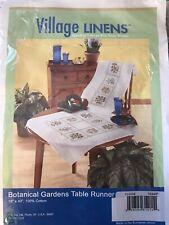 Village Linens Botanical Gardens Table Runner