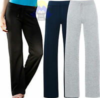 Pantaloni Felpati da Donna FRUIT OF THE LOOM Nuovi FONDO DRITTO Tuta Woman Lady