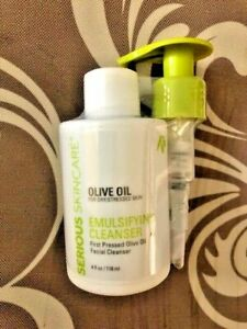 Serious Skin Care Olive Oil Emulsifying Cleanser 4oz
