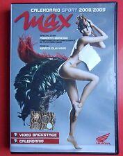 dvd roberta mancino calendario max 2008 backstage video foto photo paracadutismo