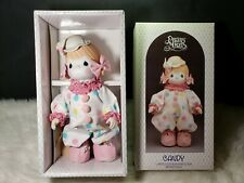 "Precious Moments Porcelain Bisque Doll 100463, ""Candy"" The Clown"