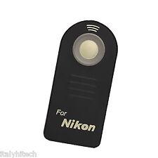 TELECOMANDO REMOTE CONTROL WIRELESS SENZA FILI ML-L3 PER NIKON D90 D80 D70 ECC