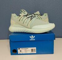 cheaper 29c9e 0a3c9 Adidas Tubular Radial-Ice Mint S76717-Melange-Men Shoes-Size 9.5-