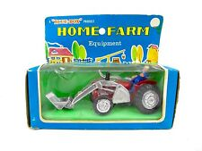 Vintage HOME FARM EQUIPMENT Toy Tractor with Figure NOS! For Train Layout Etc.