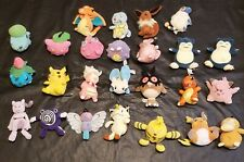 Pokemon Hasbro Nintendo Bean Bag Plush Toy Lot Stuffed Charizard Pikachu 1998 25