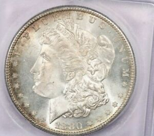 1880-S 1880 Morgan Silver Dollar ICG MS66