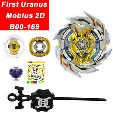 First Uranus Mobius 2D B00-169 Beyblade Burst Superking Booster Toy w/ Launcher
