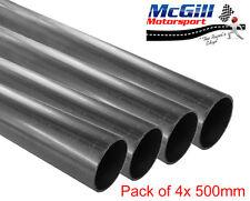 ERW Mild Steel Tube Pipe, OD 31.7mm ID 28.7mm WT 1.5mm - 4x 500mm Lengths