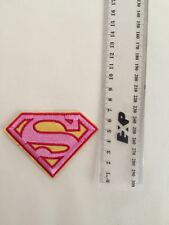 DIY Supergirl Superman Embroidered Patch - Hot Iron-on Transfer Sew On
