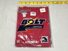 New listing vintage Lightning Bolt Pocket T-Shirt og new Nos old school Maroon size Medium