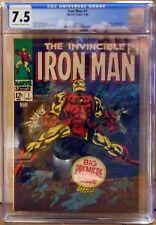 Iron Man #1 (May 1968, Marvel)  CGC 7.5