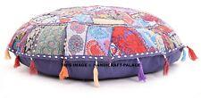 "Decorative Khambadiya Patchwork Floor Pillow Cushion Seating Throw Vintage 32"""