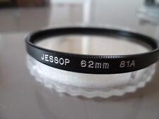FILTRE JESSOP 62 MM 81 A