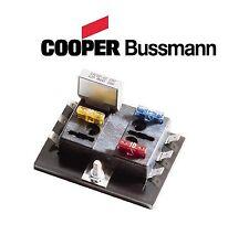 bussman atc 6 position fuse block holder cafe racer custom bobbersuzuki  (fits: bmw f800gs)