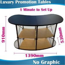 Luxury magnetic promotion tables promotion counter promotional tables NO Graphic