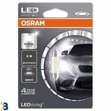 Osram C5W 36 mm 239 12 V SV8.5-8 Interior Festoon Iluminación LED Blanco Frío 6000K