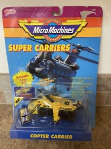 1990 Galoob Micro Machines Super Carriers Marine Copter Carrier New Sealed