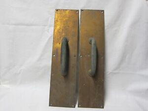 """Vintage Solid Brass Door Pull Handles 16"""""""
